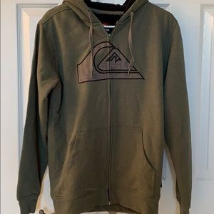 Full zip quicksilver hoodie small NWT